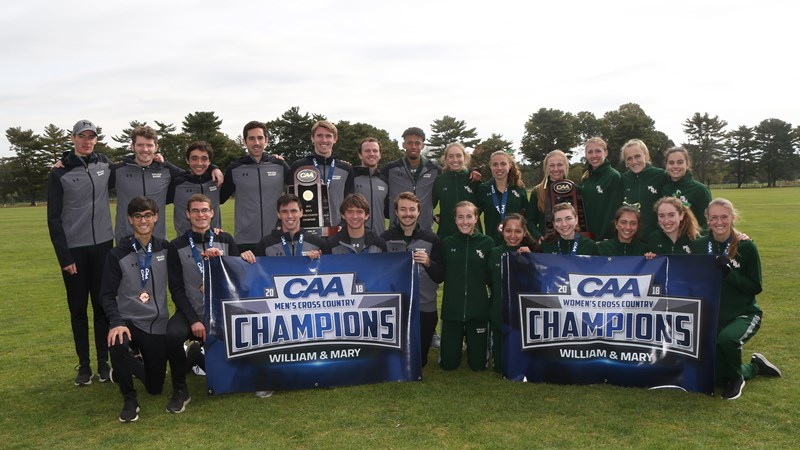 W&M Men's and Women's Cross Country Teams Earn All-Academic Honors from the USTFCCCA