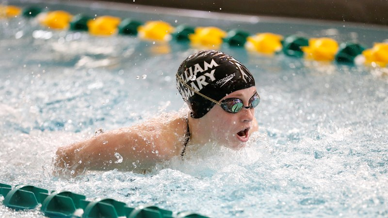 Rebecca Rogers Named CAA Swimmer of the Week
